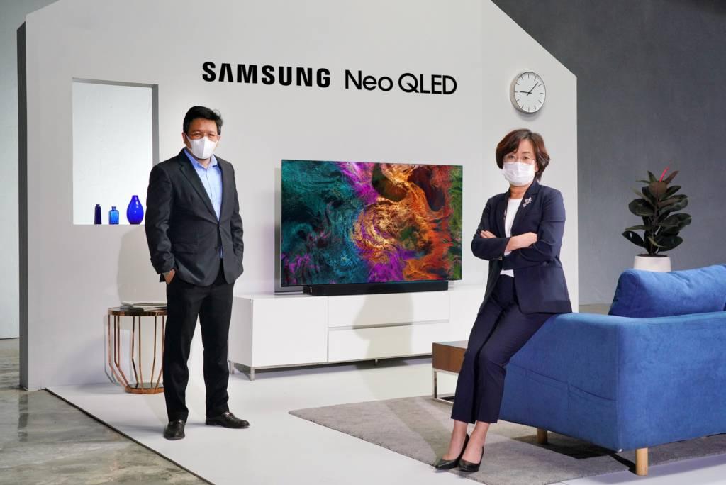 ซัมซุงส่ง Neo QLED รุกตลาดทีวีพรีเมียมและไฮเอนด์ ตั้งเป้าขยายฐานลูกค้าระดับบนเพิ่มเท่าตัว